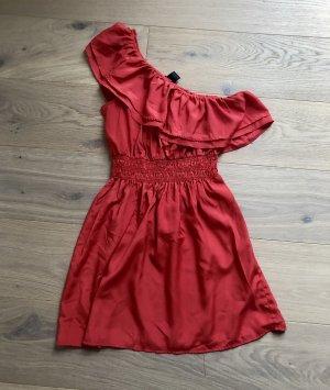 body central Robe de plage rouge clair