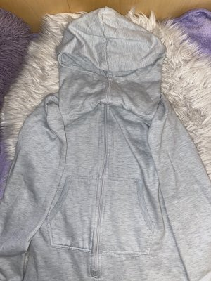 Onesie light grey-silver-colored