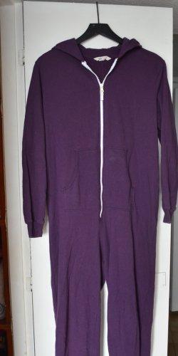 Onesuit violett Onesie mit Reißverschluss