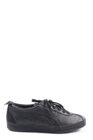 Onitsuka tiger Sneakers met veters zwart casual uitstraling