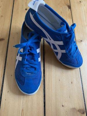 Asics Sneakers met veters blauw-wit