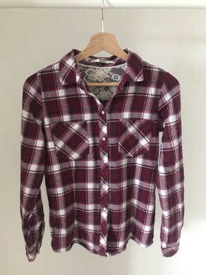 Only Flannel Shirt multicolored cotton