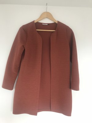Only Long Knitted Vest russet polyester