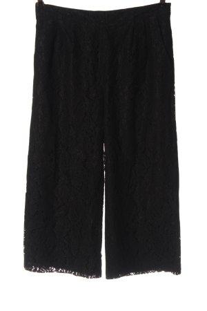 Only 3/4 Length Trousers black elegant