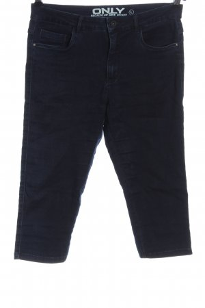 Only Jeans a 3/4 blu stile casual
