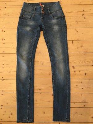 Only Stretch Jeans cornflower blue cotton