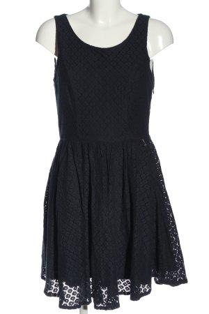 Only A-Linien Kleid schwarz Elegant