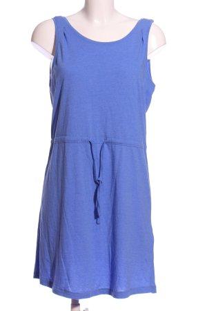 Only A-Linien Kleid blau meliert Casual-Look