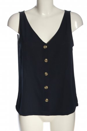 Only A Line Top blue flecked casual look