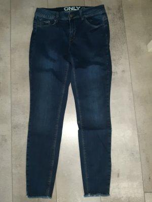 Only Pantalon strech bleu