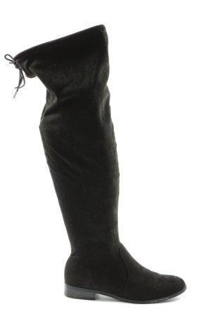 Only Stivale con tacco nero stile casual