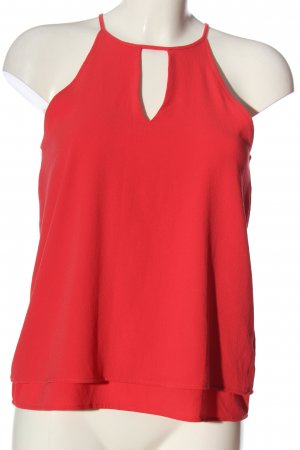 Only ärmellose Bluse rot Casual-Look