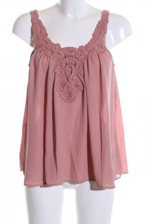 Only ärmellose Bluse pink Mustermix Casual-Look