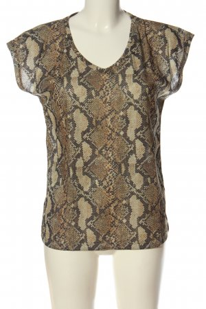 Only ärmellose Bluse Animalmuster Casual-Look