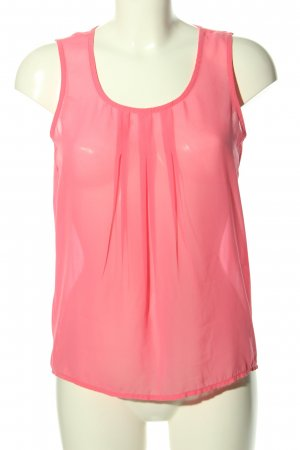 Only ärmellose Bluse pink Casual-Look
