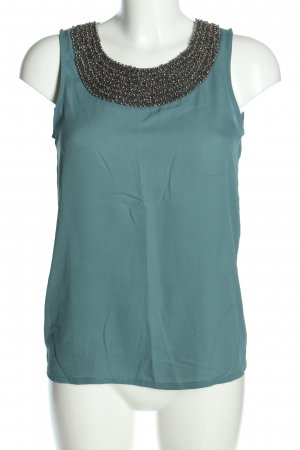 Only ärmellose Bluse türkis Casual-Look