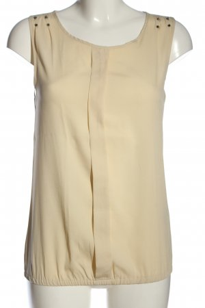 Only ärmellose Bluse nude Casual-Look