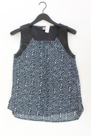 Only Ärmellose Bluse Größe 36 blau aus Polyester