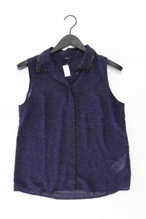 Only Ärmellose Bluse Größe 38 blau aus Polyester