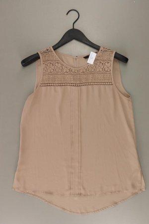 Only Ärmellose Bluse Größe 40 braun aus Polyester