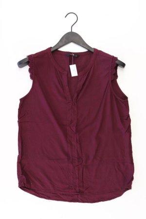Only Ärmellose Bluse Größe 40 rot aus Viskose