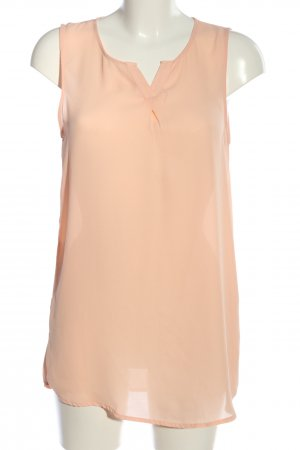 Only ärmellose Bluse nude Business-Look