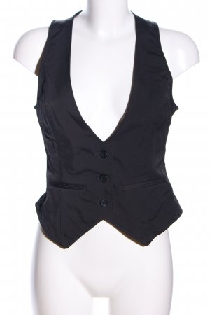 Only Waistcoat black business style
