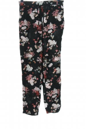 Only Baggy Pants Blumenmuster Casual-Look