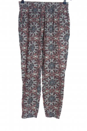 Only Baggy Pants abstraktes Muster Casual-Look