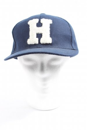 Only Baseball Cap blue-white casual look