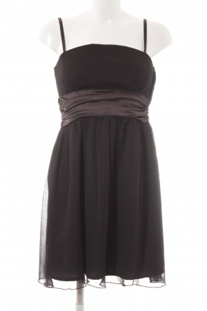 Only Robe bandeau noir style festif