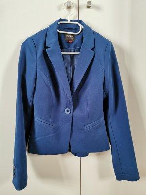 ONLY Basic Blazer Kurzblazer Jackenblazer Gr 36 Blau *Neu*