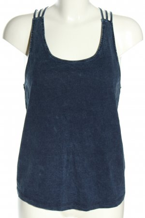 Only Basic topje blauw casual uitstraling