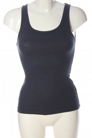 Only Basic topje blauw gestippeld casual uitstraling