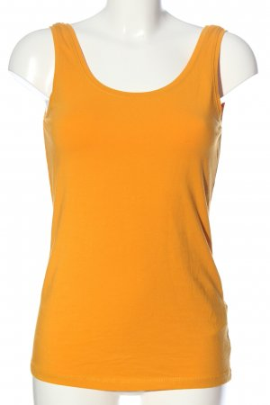 Only Basic topje licht Oranje casual uitstraling