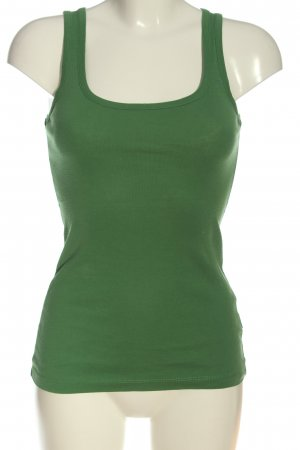 Only Basic topje groen casual uitstraling