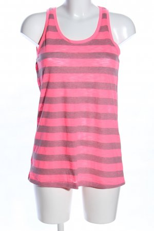 Only Basic Top pink-hellgrau Allover-Druck Casual-Look