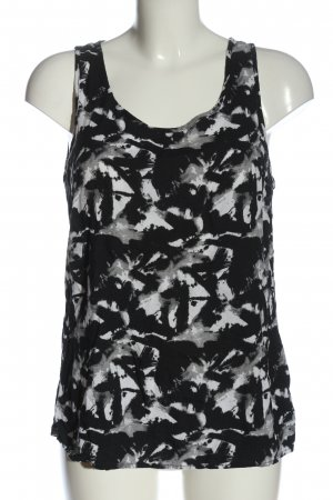 Only Basic topje volledige print casual uitstraling