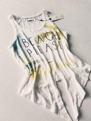 Only Beach Print Shirt