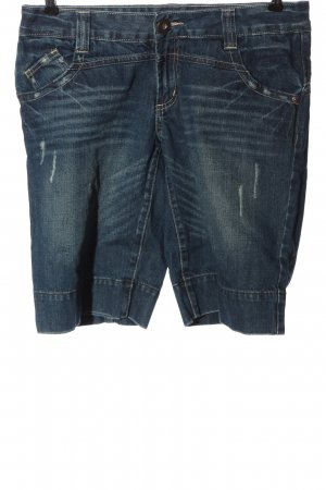 Only Bermudas blue casual look