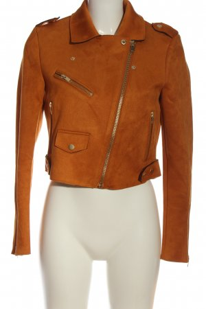 Only Bikerjacke hellorange Casual-Look