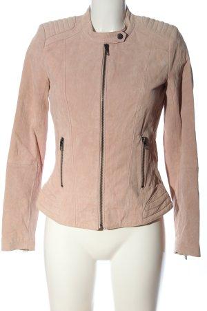 Only Bikerjacke pink Casual-Look