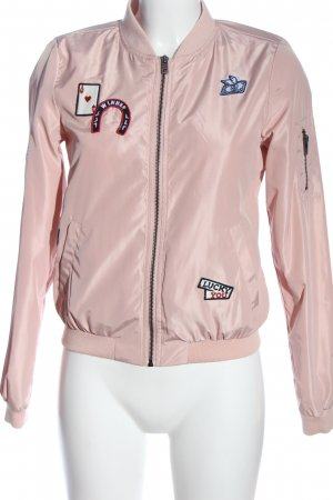 Only Übergangsjacke pink Casual-Look
