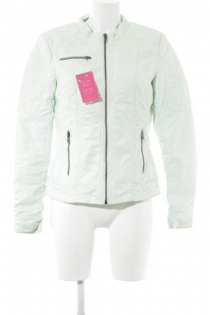 Only Bikerjacke mint Casual-Look