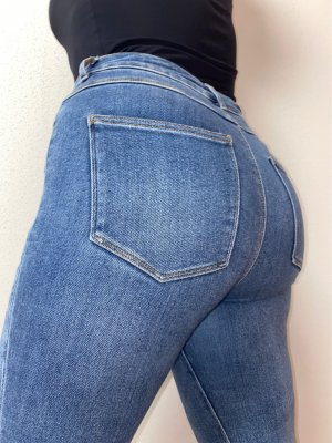 Only Blaue Skinny Jeans