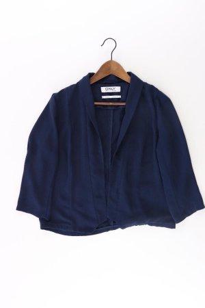Only Blazer Größe 38 blau aus Polyester