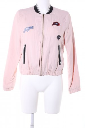 Only Blouson pink Casual-Look