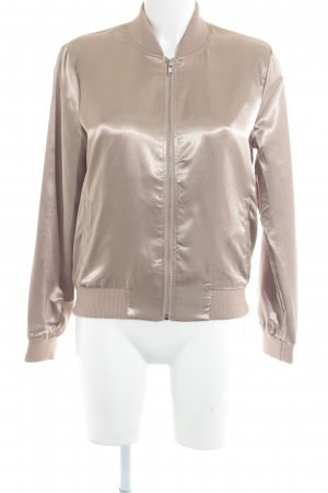 Only Blouson roségoldfarben Casual-Look