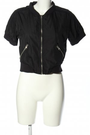 Only Blouson schwarz Casual-Look