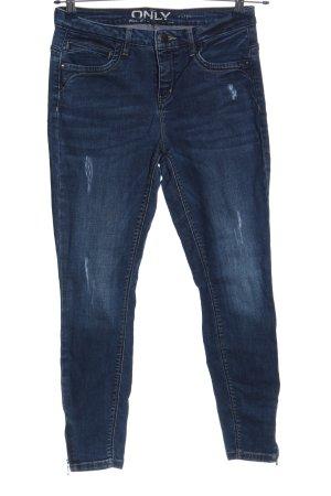only blue denim 7/8 Jeans